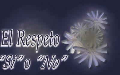 El Respeto. «Si» o «No».
